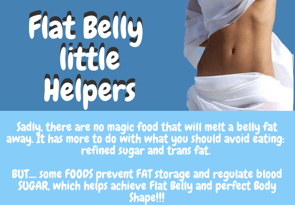 Flat Belly little Helpers